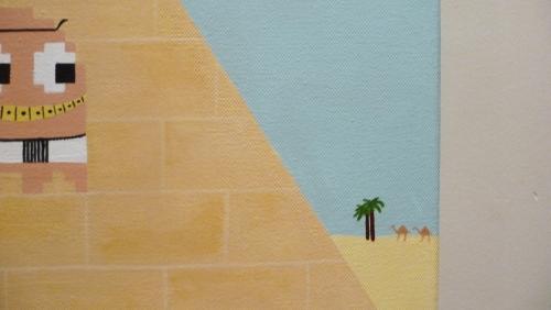 Ghostankamon, voyage en Egypte, détail 1