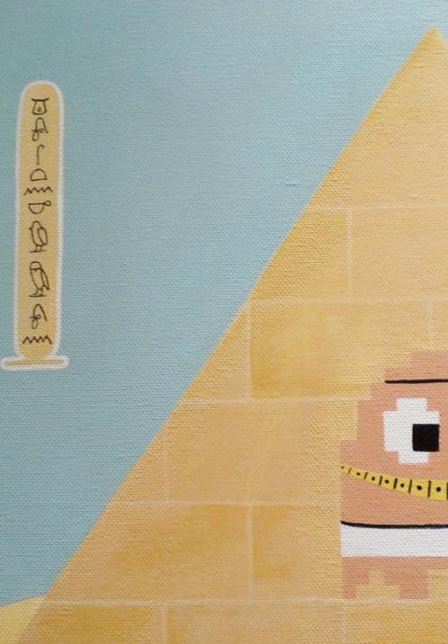 Ghostankamon, voyage en Egypte, détail 2